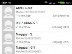 Review Screenshot - Give a New Look to Your Dialer App