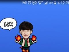 EXO CHANYEOL Battery Widget 1.0.3 Screenshot