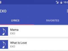 EXO Songs & Lyrics 1.0 Screenshot
