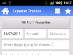 Expense Log FREE 1.1 Screenshot