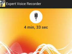 Expert Voice Recorder Pro 1.0 Screenshot