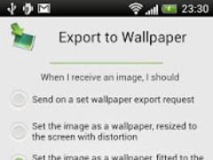 Export to Wallpaper 1.0 Screenshot