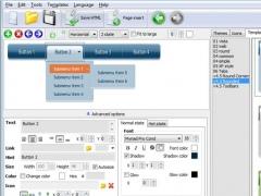 Expression Web Menu 1.0 Screenshot