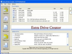 Extra Drive Creator Professional 17.1 Screenshot