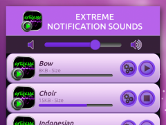 Extreme Notification Sounds 3.3 Screenshot