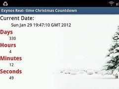 Exynos Christmas Countdown RT 1.3 Screenshot