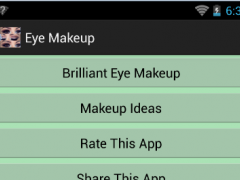 Eye Makeup 1.1 Screenshot