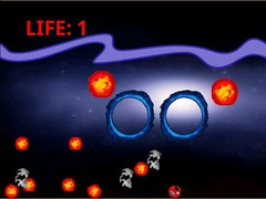 Eye Patch Man vs Fire balls 1.0.1 Screenshot