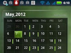 EZ Calendar Widget 0.9.1 Screenshot