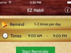 EZ Habit 1.0.1 Screenshot
