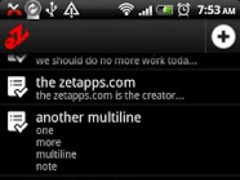 eZ Notes 1.0 Screenshot