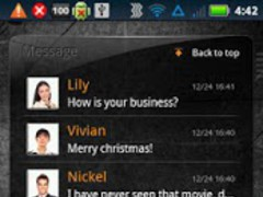 EZ SMS Widget 1.6.2 Screenshot