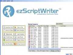 ezScriptWriter - Medical Rx Software 4.2 Screenshot