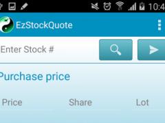 EzStockQuote 2.9.4 Screenshot