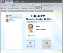 ezTimeSheet Employee Time Tracker 2.0.12 Screenshot