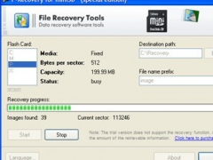 F-Recovery for miniSD 1.8 Screenshot