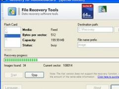 F-Recovery for MultiMediaCard 1.8 Screenshot