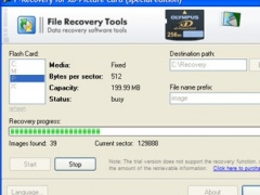 F-Recovery for xD-Picture Card 2.5 Screenshot