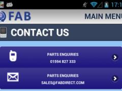 FAB Car Parts & Breakers 20141120.1.0 Screenshot