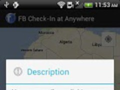 Facebook Check-in with GMap 1.3 Screenshot