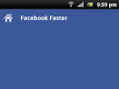 Facebook Faster 1.0 Screenshot