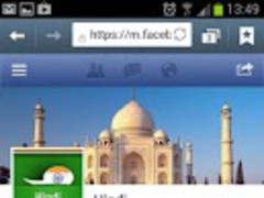 Facebook in Hindi 1.0 Screenshot