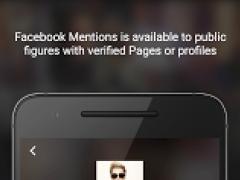 Facebook Mentions 77.0 Screenshot