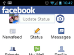 Facebook on biNu 5.0.1 Screenshot