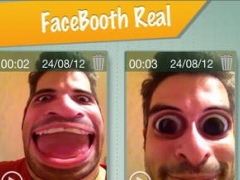 FaceBooth Real - Instant funny video effects 1.2 Screenshot