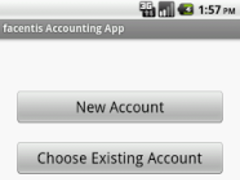facentis Accounting App 1.0 Screenshot