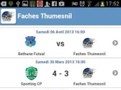 Faches futsal 4.1.2 Screenshot