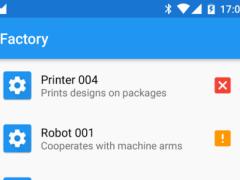 Factory Maintenance Sample 1.0 Screenshot