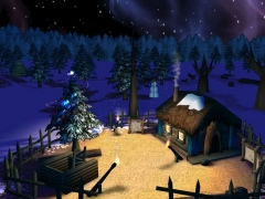 Fairy Christmas Day 3D Screensaver 1.0 Screenshot