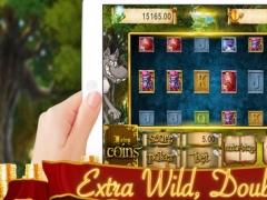 Fairy Tale Girl Slots - Best Poker Free 1.0 Screenshot