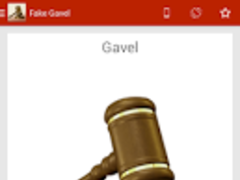 Fake Gavel 1.0 Screenshot
