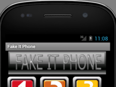 Fake It Phone 1.01 Screenshot