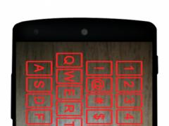 fake keyboard hologram 1.0 Screenshot
