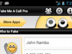 Fake Me A Call Pro 1.8.3 Screenshot