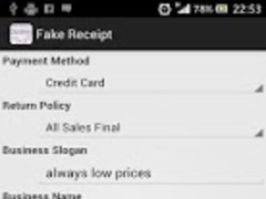 Fake Receipt Generator Free Download - Fake reciept maker
