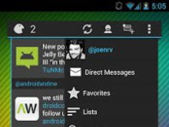Falcon Widget (for Twitter) 1.3.6 Screenshot