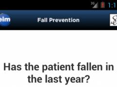 Fall Prevention 1.0 Screenshot