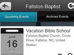 Fallston Baptist 1.0 Screenshot