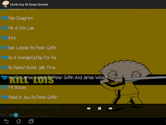 Family Guy All Songs 1.01 Screenshot