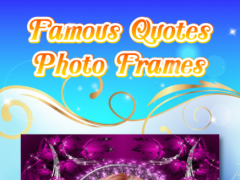 Famous Quotes Photo Frames 1.0 Screenshot