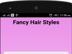 Fancy Hair Styles Step By Step 1.0 Screenshot