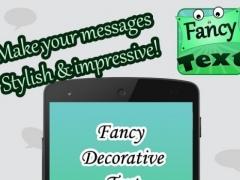 Fancy Messaging Text 1.0 Screenshot