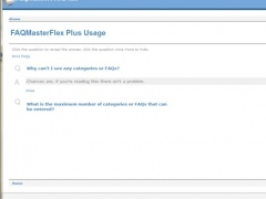 Faqmasterflex Plus 2.0 Screenshot