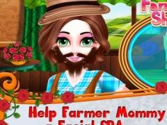 Farmer Mommy Shave Beard Salon 1.0.0 Screenshot