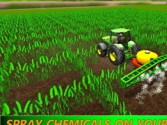 Farming Expert Game: Diesel Tractor Harvest Season 1.0 Screenshot