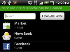 Fast Clean Cache 1.2.2 Screenshot